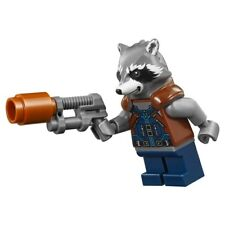 LEGO Marvel Super Heroes Rocket Raccoon  MINIFIG from Lego set #76102 Brand New