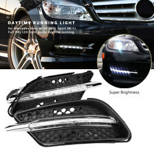 LED Fog Lights Daytime Running Light For Mercedes Benz W204 AMG Sport C300 08-11