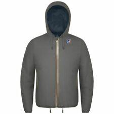 Cappotti e giacche da uomo con cappuccio grigia K.WAY