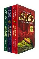 His Dark Materials Trilogy book Set by Philip Pullman The Subtle Knife,The amber