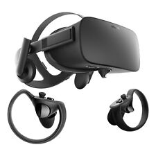 Oculus Rift CV1 Virtual Reality Headset with Controllers + Sensors