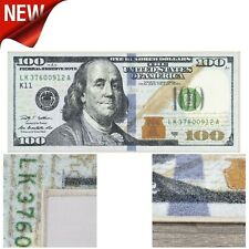 "Runner Rug 100 Dollar Bill Money Carpet Hallway Mat Non Slip Back Floor 22""X53"""