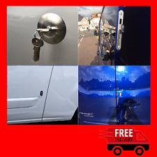 Ford Transit Custom 2012>Rear Van Security Deadlock Kit With Hook Lock And Hykee