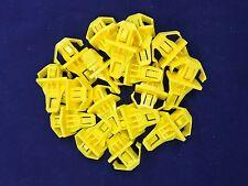Set of 20 Honda CR-V Bumper Moulding Clips Yellow Nylon 91578-T0A-003 USA SELLER