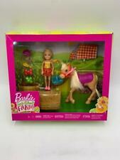 Barbie Sweet Orchard Farm - Chelse Doll & Pony/Horse + Accessories BNIB