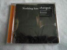 CD  DAVID BOWIE  NOTHING HAS CHANGED. THE VERY BEST OF