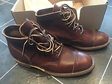 Viberg Boots Service Boots for Kafka Size 11 Uk10-11 Brown Cxl Dainite Sole BNIB