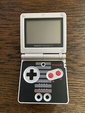 Nintendo Game Boy Advance SP NES Special Edition AGS-001 With Charger