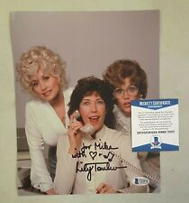 Lily Tomlin Signed 8x10 Photo Autographed AUTO Beckett BAS COA