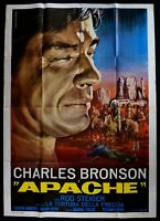 M183 Manifesto 4F Apache El Tortura De Flecha Charles Bronson Rod Steiger