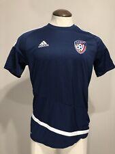 United Soccer Athletes Adidas Mls Medium Jersey Soccer Usa Vintage Performance