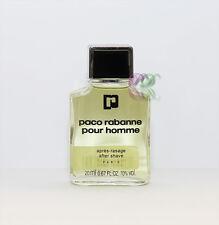 Paco Rabanne Pour Homme Aftershave 20ml Men Fragrances After Shave New