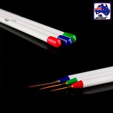 6x Tiny Sharpe UV Nail Art Tip Salon Drawing Pen Brush Painting Tool JNAIL0303x2