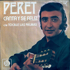 EUROVISION,PERET.Canta y se feliz. SPAIN ENTRY 1974.UK PYE single
