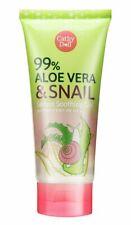 Cathy Doll 99% Aloe Vera & Snail Serum Soothing Gel 175ml Moisturizing Skin Care