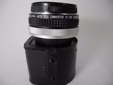 CANON MOUNT SUPER ALBINAR 2X CONVERTER LOOKS UNUSED IN CASE W/CAPS