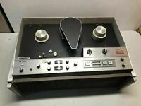 Vintage Ampex VR-7500 Reel to Reel W/ Case Color/Black & White Audiophile RARE