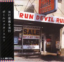 PAUL MCCARTNEY Run Devil Run CD MINI LP