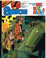 A8- Spirou N°2251 Mic Mac Adam