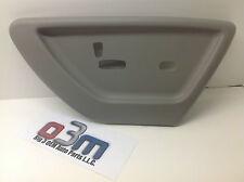 2006-2009 Chevrolet Trailblazer Passenger Grey Power Seat switch COVER new OEM