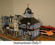 GET 100+  CUSTOM LEGO INSTRUCTIONS likeMODULAR TRAIN STATIONS 10219 Maersk Train