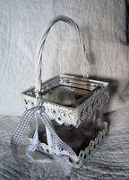 Countryfield Windlicht Shabby Chic Landhausstil Vintage Teelicht