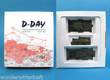 Roco Minitanks H0 999 D-DAY SET ROYAL ARMY Churchill, Cromwell, Sdt WWII HO 1:87