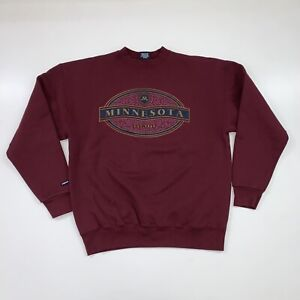Vintage 90s Minnesota University Crewneck Sweatshirt Size 2XL Jansport
