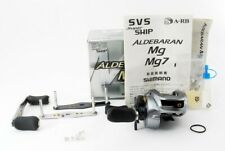 SHIMANO ALDEBARAN Mg w/Spare handles Right handed Bait casting reel USED G744