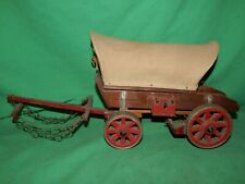 Vintage! Covered Wagon Model Kit, Other? Hand Made Wood Accessories Wild West
