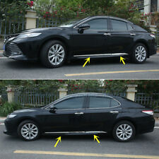 New Stainless Steel Chrome Body Molding Door Trim For Toyota Camry 2018