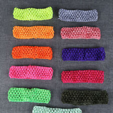 10pcs/lot Elastic Baby Girls Toddler Crochet Hair Head Band Headband Hairband