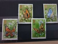 Great Britain 1981 Butterflies. 5 stamp set used