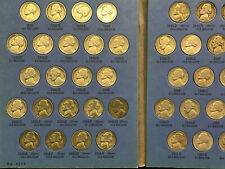 Jefferson Nickel Set Complete from 1938-1961 including Silver Wartime