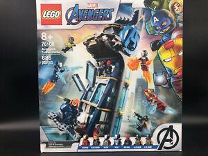 LEGO Marvel 76166 - Avengers Tower Battle (New / Sealed)
