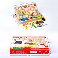 Kids Baby Wooden Learning Geometry Creative Toy Puzzle Montessori Math Toddler