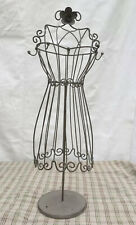 """Vintage Wire Dolly Jewellery Display Stand  17"""""""