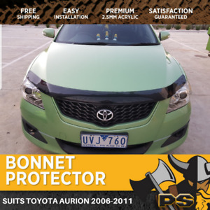 Bonnet Protector to suit Toyota Aurion 2006-2011 Tinted Guard