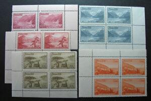 Russia 1959 #2272//2280 Variety MNH OG Russian Scenic Views Block Set $1,200.00!