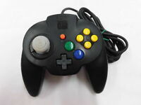 Z3931 Nintendo 64 Hori pad mini controller Black Japan N64