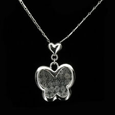 Butterfly Necklace Pendant Charm Wedding Party Valentine's Day Costume Jewelry