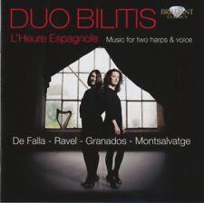 Duo Bilitis - L'heure espagnole - Music for two harps & voice - CD -