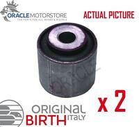 2 x BIRTH REAR AXLE CONTROL ARM WISHBONE BUSH PAIR GENUINE OE QUALITY - 2648