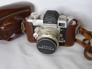 Alpa Alnea Model Mod 7 Swiss Made 35mm Camera w/Case