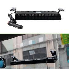 Car 12 LED Dash Emergency Strobe Flash Light Warning Lamp RED WHITE BLUE