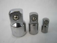 "3pc Socket Reducer Adaptor Set 3/8"" 1/2"" 3/4"""