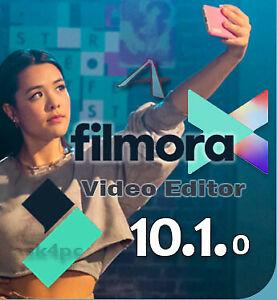 WONDERSHARE FILMORA X 10.1✔️ for windows ✔️Lifetime activated ✔️
