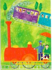Phoenix Trading - Greeting card -  Red Engine - One Brand New Card