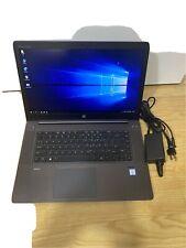 """HP ZBook Studio G3 15.6"""" i7-6700HQ @ 2.6Ghz 16GB 512GB SSD Windows 10 Pro"""