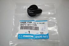 FAN A/C HEATER CONTROL KNOBS TEMP VENT CONTROL FORD PE PG PH COURIER UH81-61-195